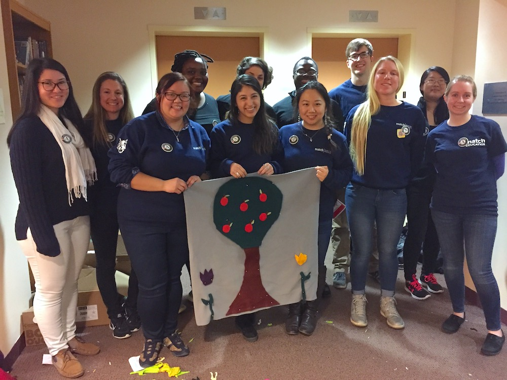 Corporate Volunteers on MLK Day